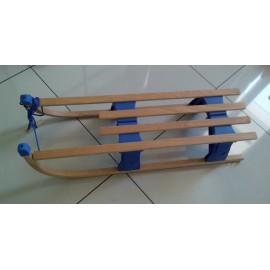 Санки деревянные складные 80 см., со спинкой