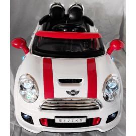 """Электроавтомобиль Mini Cooper """"River Auto"""" на резиновых колесах"""